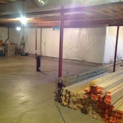 Full Basement Remodel Is Underway!