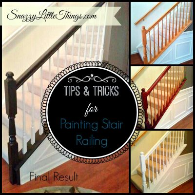 Painting the Chair Railing