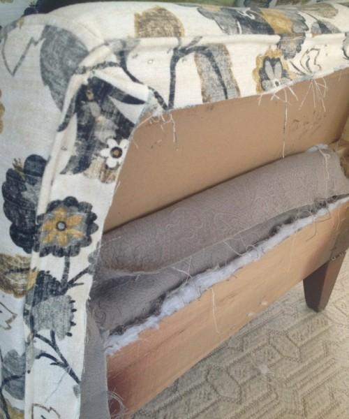 DIY Chair Reupholstery Tutorial