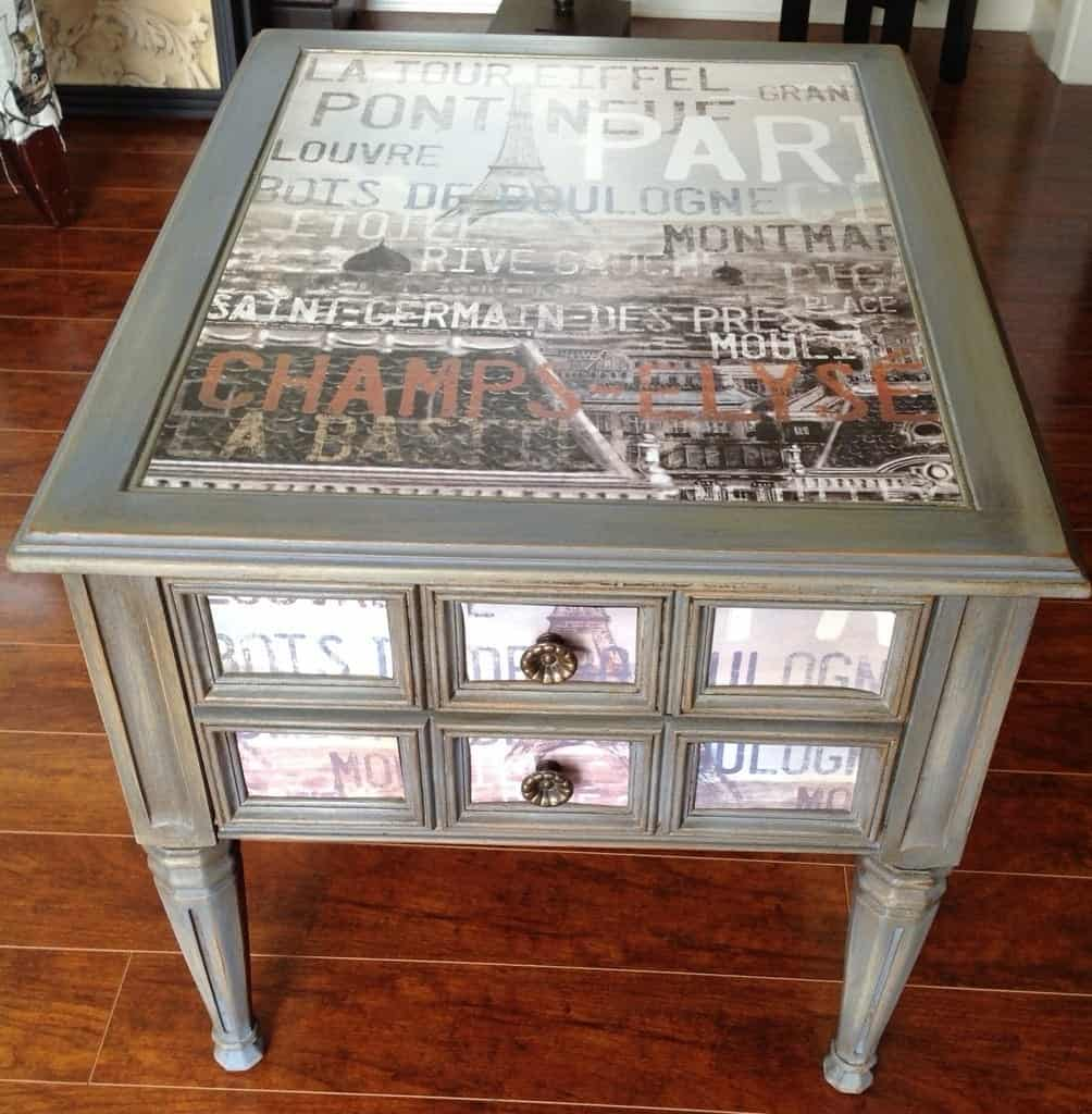 DIY Goodwill Table Upcycle