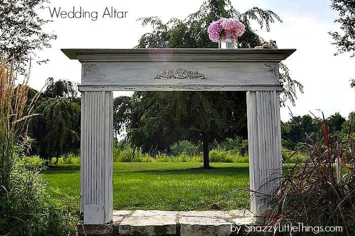 Wedding Altar by SnazzyLittleThings.com