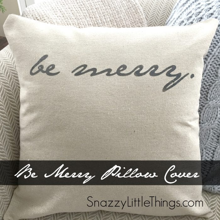 be-merry-pillow-cover