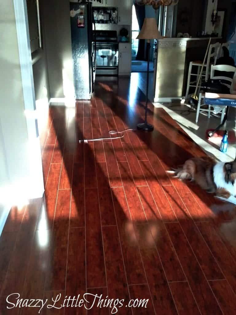 Progress laminate floor installation