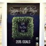"""DIY """"To-Do"""" List 2015"""