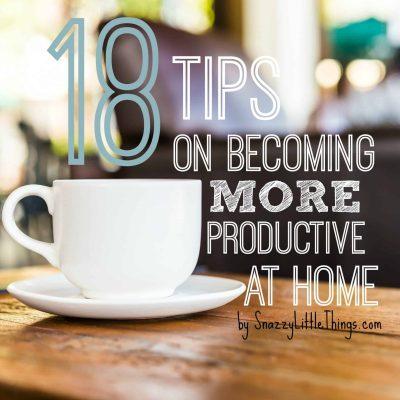 18 Tips to Improve Productivity