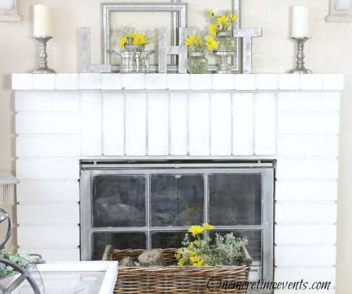 Vintage Spring Decor | by SnazzyLittleThings.com