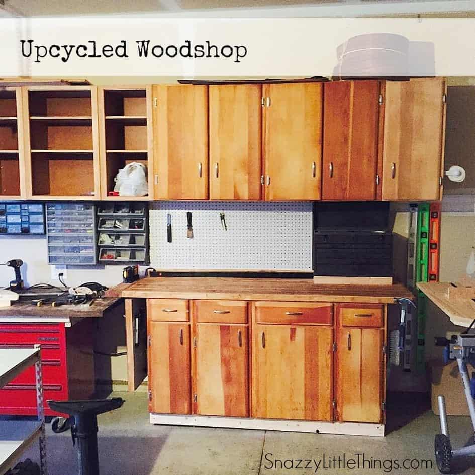 Upcycled Woodshop