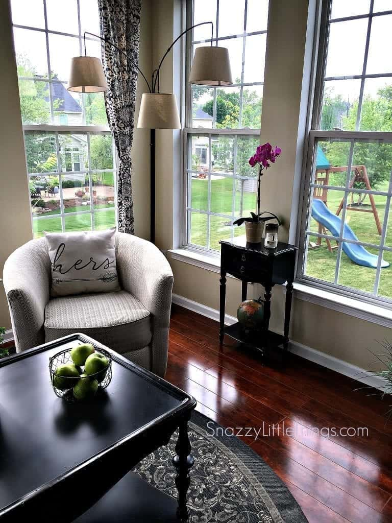 Sunroom Summer Home Tour @Snazzylittlethings