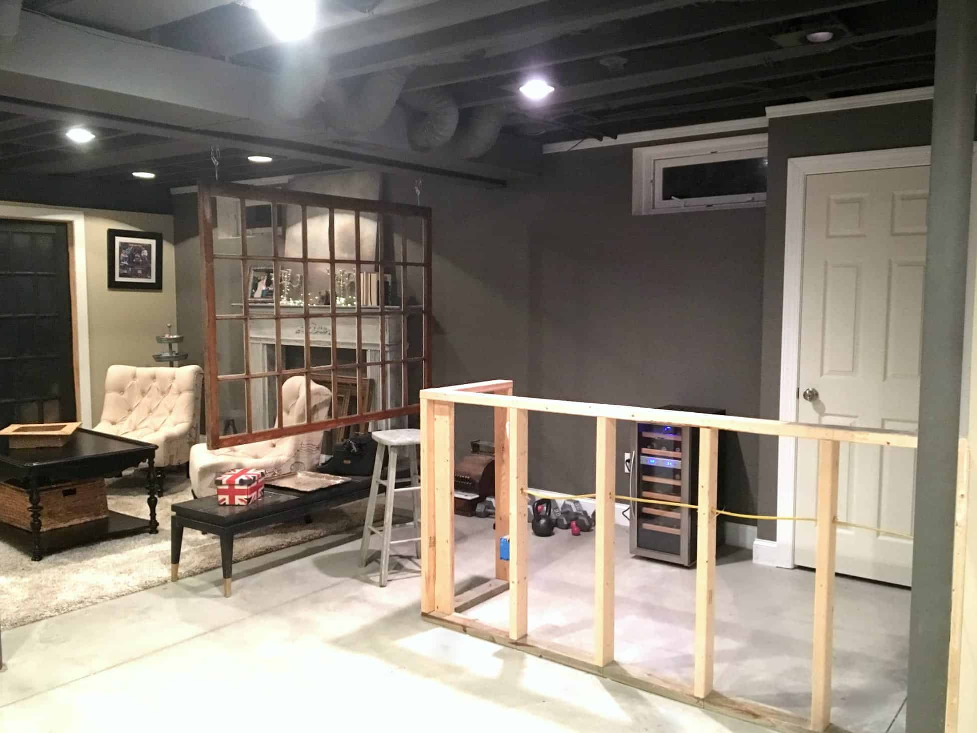 Diy Decor Industrial Basement Remodel