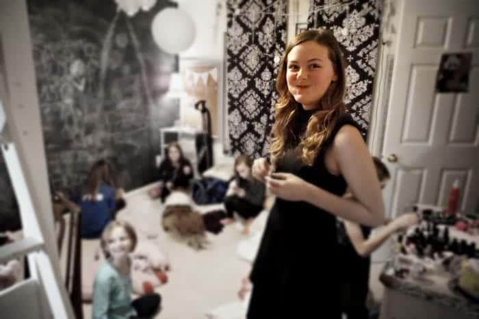 fancy focus tween holiday party
