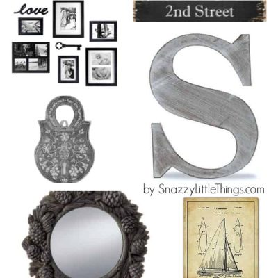 Dress Up Your Gallery Walls:  10 Items under $20 each