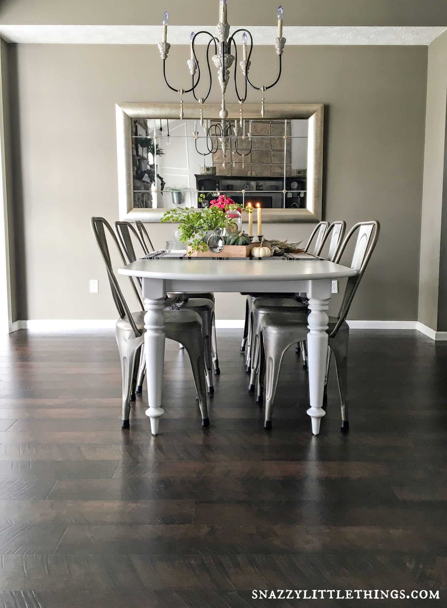 Pergo Flooring In Kitchen Pergo Flooring Dining Room Reveal Snazzy Little Things