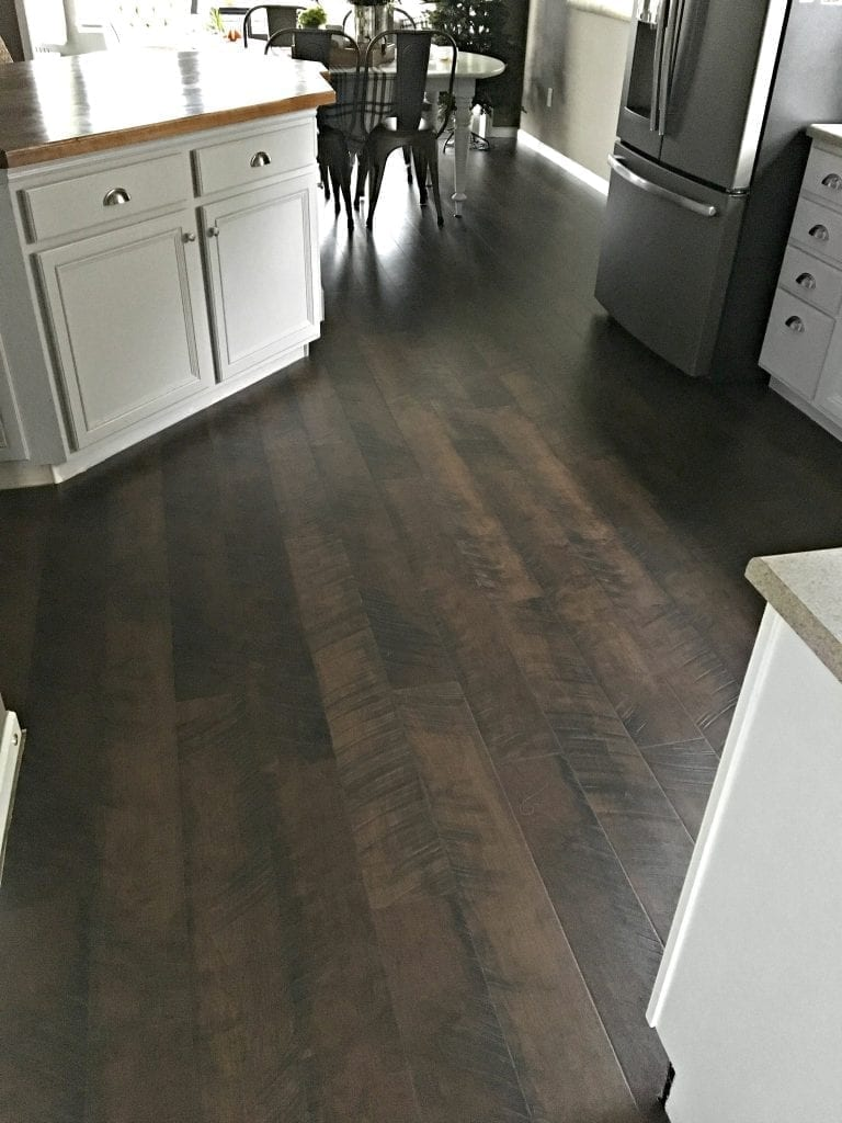 Pergo Flooring In Kitchen Pergo Flooring Our Kitchen Reveal Snazzy Little Things